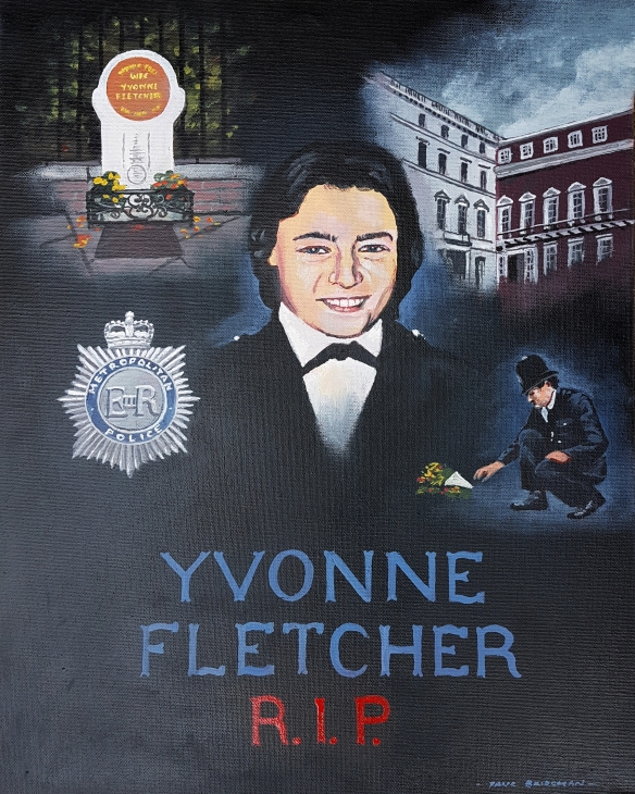 In memory of WPC Yvone Fletcher