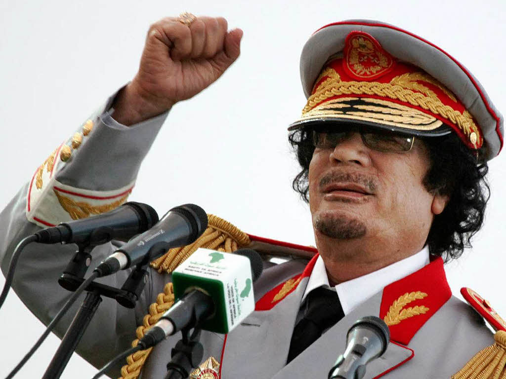 Image result for Muammar Gaddafi's DEATH