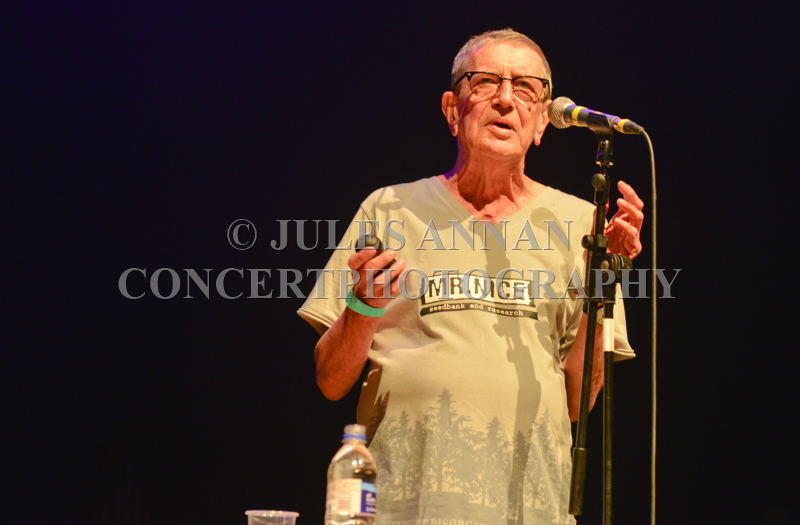 Howard Marks  performs at the Howard Marks benefit show at the Forum Kentish Town, London