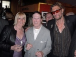 "Linda Calvey ""The Black Widow"", Roy 'Pretty Boy' Shaw and Nick Reynalds"