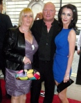 Linda Calvey, Andy Jones and Yvette Rowland at  the  Premiere of 'Killer Bitch' held at The Curzon Cinema in Mayfair, London