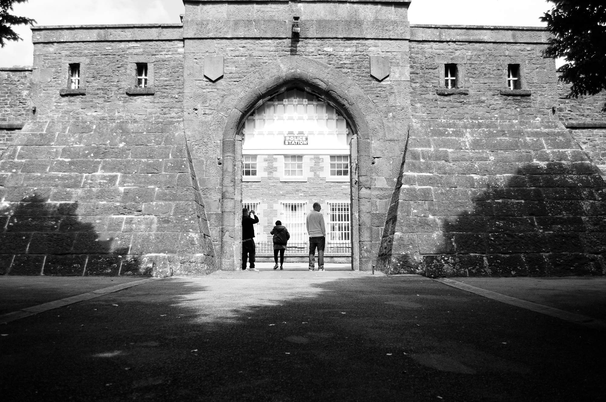 The history of littledean jail past and present the for Jail architect