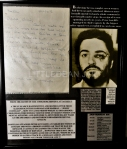 A HANDWRITTEN AND SIGNED LETTER FROM JIMMY COSTELLO... ONE OF PETER SUTCLIFFE'S ATTACKERS IN BROADMOOR HOSPITAL