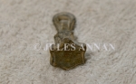 A genuine very rare miniature Jewish Star Of David stamp tool from the holocaust period
