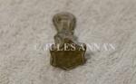 A genuine very rare miniature Jewish Star Of David stamp tool from the holocaust period