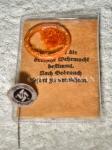 Original, unused Nazi SS issued condom