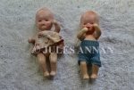 Childrens dolls  recovered from Auschwitz at the time of liberation