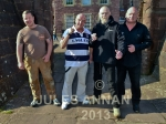 Dave Courtney and friends visit Littledean Jail, Gloucestershire