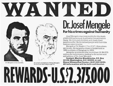 josef mengele the nazis angel of death One witness described how nazi dr josef mengele ripped an infant from its   mengele is accused of sending 400,000 jews to their death at auschwitz from  1943 to 1945  ``she talked to me in an angel`s voice,`` elias said.