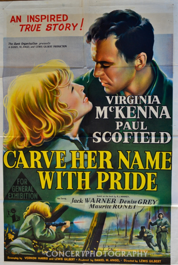 ORIGINAL  1958 CINEMA RELEASE POSTER