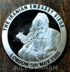 LIMITED EDITION OPERATION NIMROD COMMEMORATIVE COIN