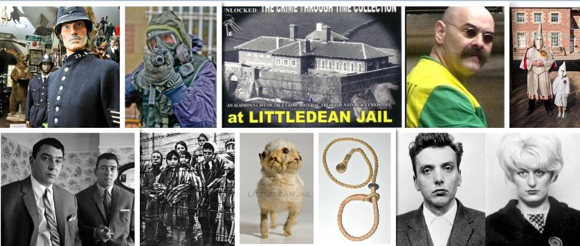 THE CRIME THROUGH TIME COLLECTION …. HERE AT LITTLEDEAN JAIL, FOREST OF DEAN , GLOUCESTERSHIRE, UK