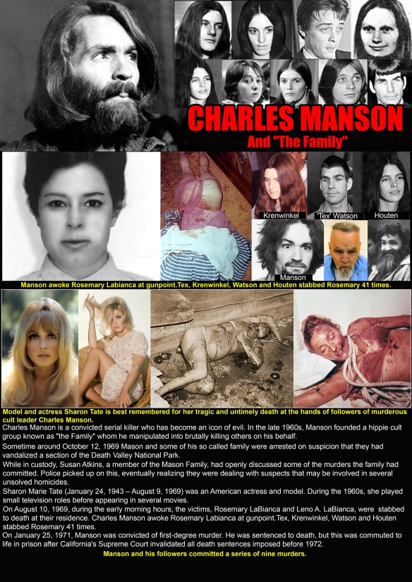 a history of charles manson and his cult the family