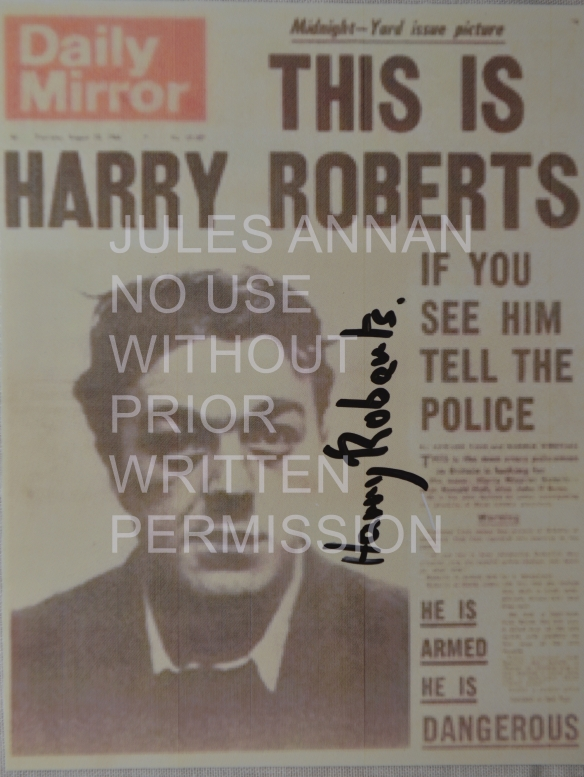 AUTHENTIC HAND SIGNED BY HARRY ROBERTS