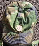 ARKAN'S TIGERS CAMOUFLAGED PEAK CAP AND BADGE