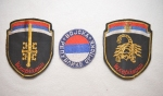 ORIGINAL SERBIAN SCORPION INSIGNIA PATCHES
