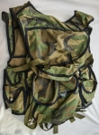 ORIGINAL ARKAN CAMOUFLAGE  AMMUNITION VEST , ALSO WORN BY SCORPIONS