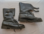 WELL WORN , ARKAN   PARAMILITARY TIGERS AND SCORPION'S UNIFORM BOOTS