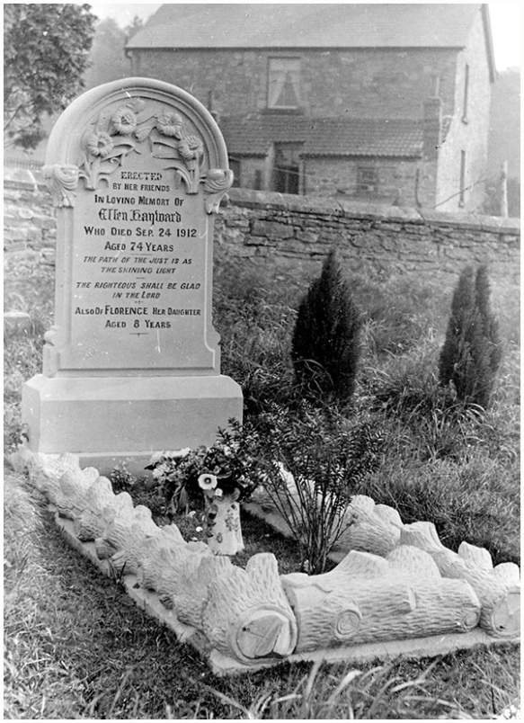 grave of ellen hayward